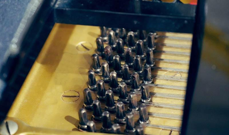 piano tuning pins and strings